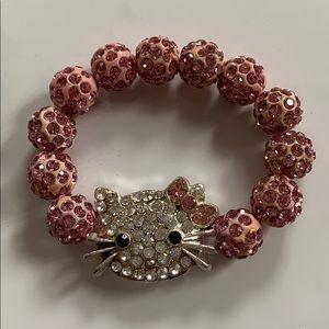 Other - New Glitter kitty bracelet
